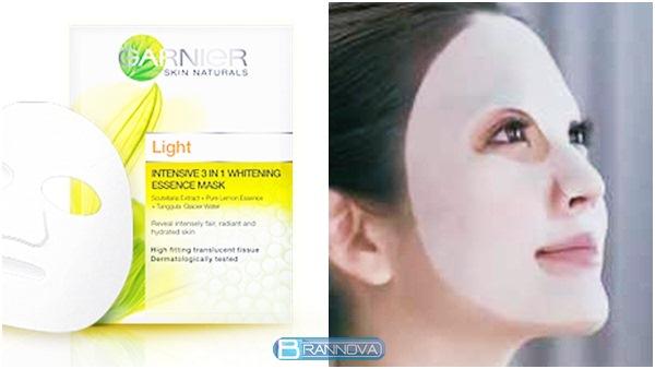 Garnier Light Intensive 3 in 1 Whitening Essence Mask