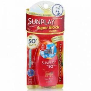 ครีมกันแดด Sunplay Super Block