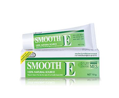 ครีมรักษาสิว Smooth E