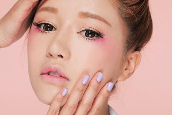 การแต่งหน้าสวยๆเกาหลี